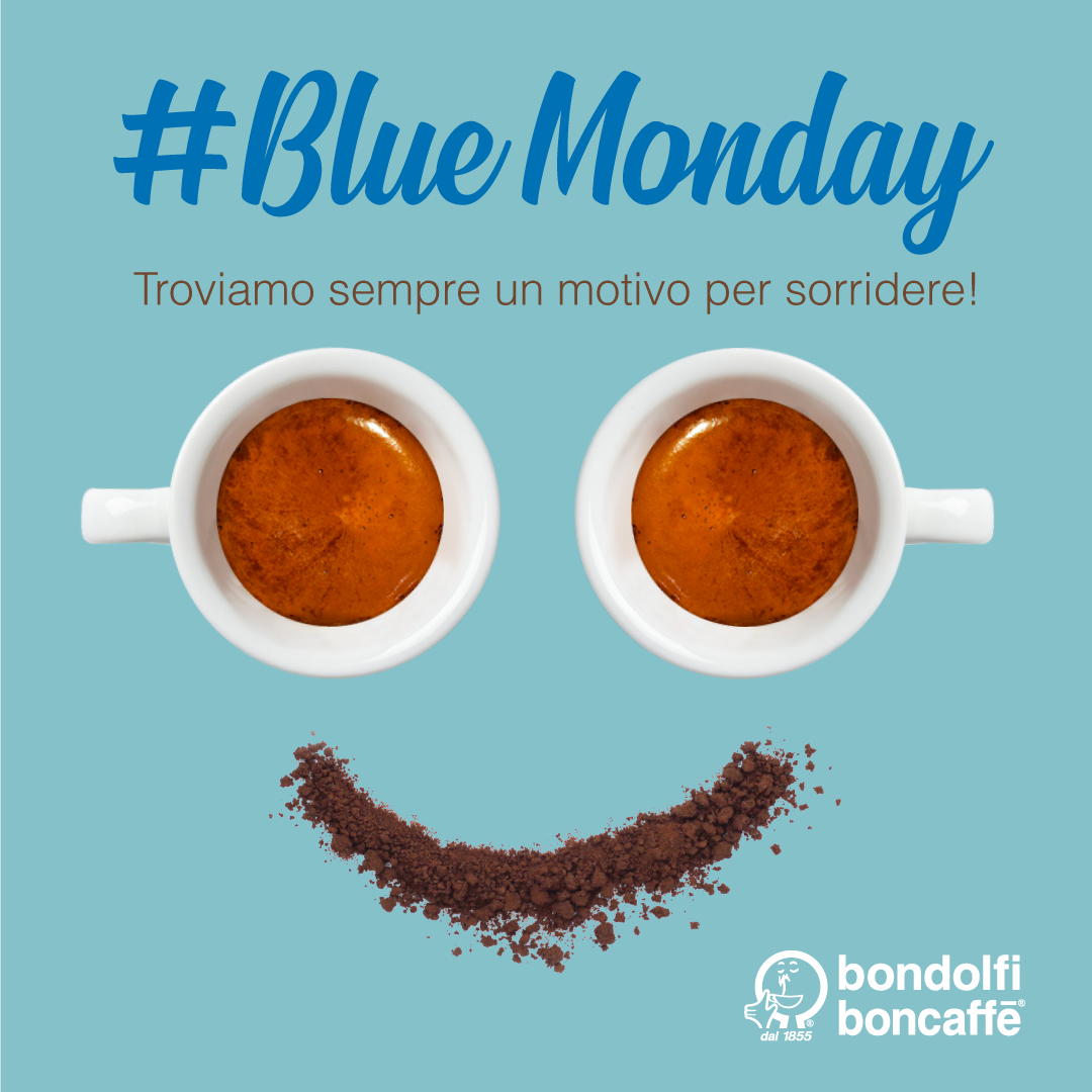Blue Monday Bondolfi Boncaffè