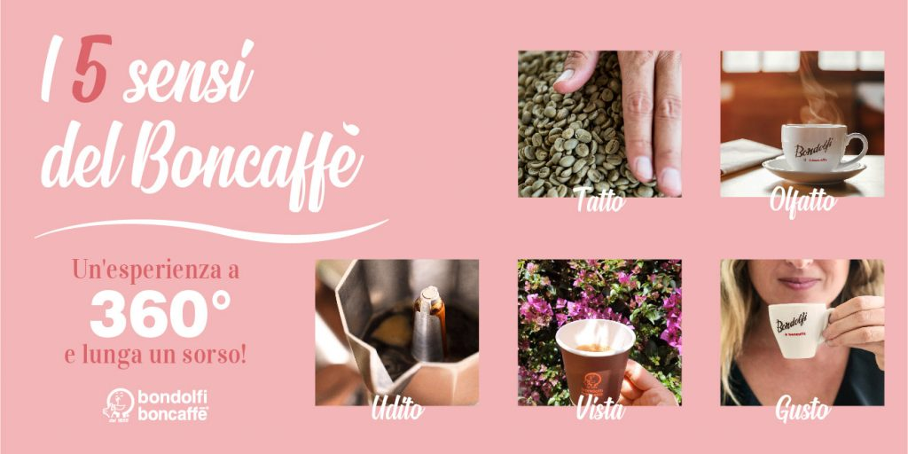 Coffee experience: i 5 sensi del caffe