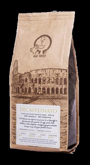 Caffè macinato decaffeinato