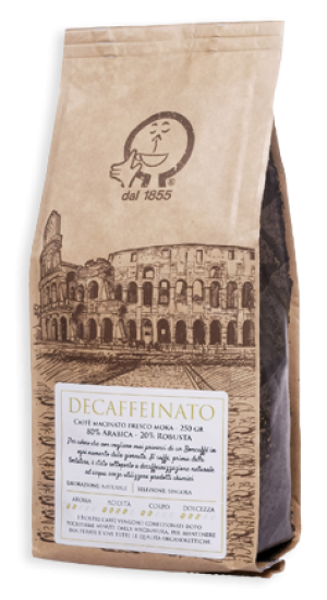 Decaffeinated Grinted Coffee